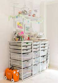 ways to keep craft supplies organized popsugar