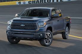 tundra 2018 toyota tundra sequoia refreshed debut new trd sport trim