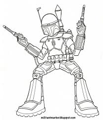 coloring boba fett coloring pages lego star wars