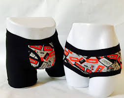 His And Hers Wedding Gifts Couples Underwear Etsy