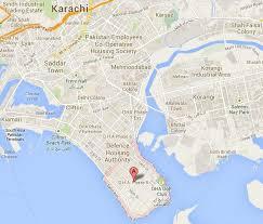 map of karachi location satellite map dha phase 8 karachi real estate housing