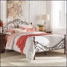 bedroom fabulous antique iron bed frame queen king metal