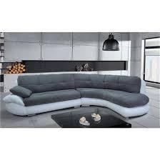 canap blanc gris canapé d angle regal gris et blanc angle droit achat vente