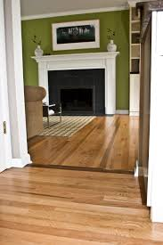 Laminate Or Real Wood Flooring A Really Cool Way To Tie Two Different Hardwood Lots Together