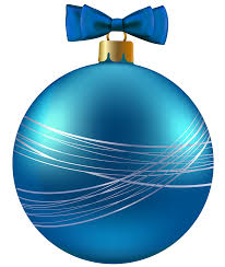 blue christmas ornaments clip art clipart collection