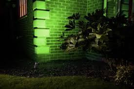 Recessed Garden Wall Lights by Auraglow Deep Recessed Gu10 Holder Ip54 Garden Spike Light Red