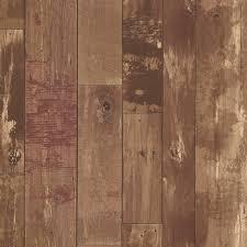 heim brown distressed wood panel wallpaper rustic wallpaper