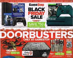 gamestop black friday deals 2016 now available sony