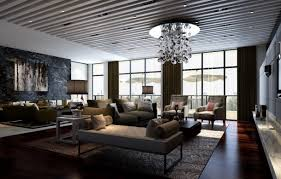 make a large room feel like home modern designer