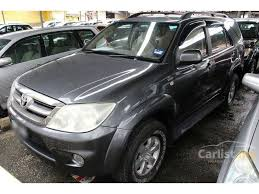 2005 toyota manual toyota fortuner 2005 g 2 5 in selangor manual suv grey for rm