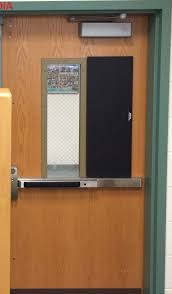 shelter shutters magnetic vision panel covers for schools belmar nj