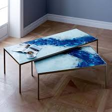 streamline coffee table west elm lacquer storage coffee table west elm