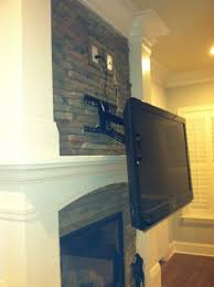Mounting A Tv Over A Gas Fireplace by How To Mount Tv Over Fireplace Without Studs Fireplace Ideas