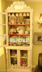 Kitchen China Cabinet Hutch My China Cabinet Makeover A Cultivated Nest