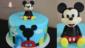mickey mouse cake disney mickey mouse clubhouse cake tutorial