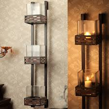 Wall Mounted Candle Sconce Metal Candle Holder Wall Decor Thesecretconsul Com