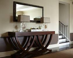 Unique Hallway Tables Wonderful Hallway Table With Unique And Simple Design