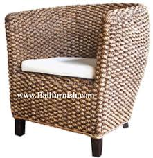 Banana Leaf Armchair Seagrass Furniture Seagrass Chairs Seagrass Dining Arm Chairs You