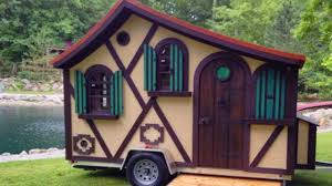 the tudor micro cottage on wheels by woolywagons amazing small