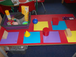 challenge table ch match household objects to its mathematical