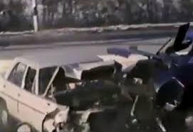 disturbing video shows how living humans were used as car crash