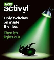 activyl a new spot flea control