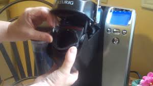 how to insert my k cup filter into keurig coffeemaker youtube
