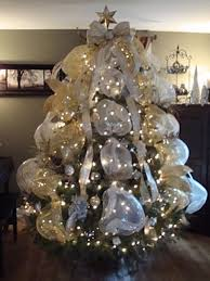 Decorated Christmas Trees Ideas Decorations For A White Christmas Trees U2013 Halloween Wizard