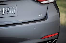 jeweled lexus emblem 2015 hyundai genesis sedan first look motor trend
