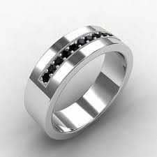 mens black diamond wedding band great mens white gold black diamond wedding bands wedding ideas