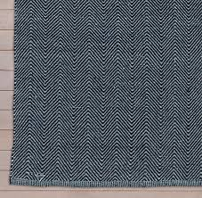 Grey Outdoor Rugs Herringbone Flatweave Outdoor Rug Swatch Navy Grey Rugs