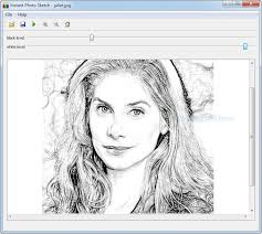 instant photo sketch create pencil sketches from photos