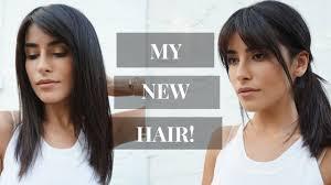 i got bangs new haircut vlog youtube