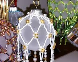 bead ornament cover etsy