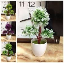 fake plants for living room with japanese fruticosa artificial