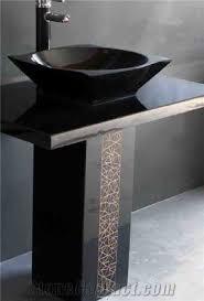 Bathroom Sink Stone Granite Pedestal Sink Foter