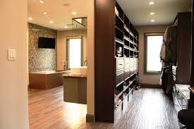 Open Bedroom Bathroom Design by Astonishing Walk In Wardrobe Designs With Massive Clothing Lines