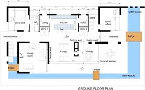 House Plans Small Lot Amazing Modern House Plan Single Story Modern House Plans Are