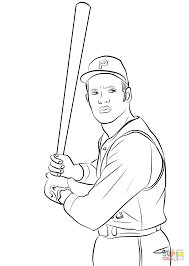 Roberto Clemente Coloring Page Free Printable Coloring Pages Jackie Robinson Coloring Page