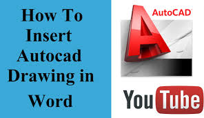 format eps dans word how to insert autocad drawing in word document youtube