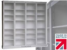 white painted u0026 oak bookcase 7ft tall heavy duty shelving unit