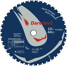 Miter Saw For Laminate Flooring Bosch Dcb1244 12 In 44 Tooth Daredevil Table And Miter Saw Blade
