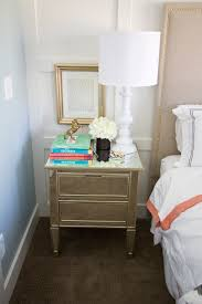his hers nightstand styling withheart