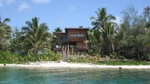 holiday home kaireva beach house rarotonga cook islands
