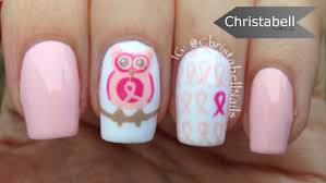 breast cancer awareness nail art save your hooters youtube