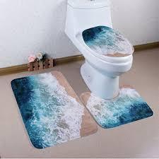 Christmas Bathroom Rugs by Christmas Bathroom Decor Sets