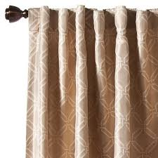 Fieldcrest Luxury Shower Curtain - new fieldcrest luxury icon window panel curtain drape tan 54x84