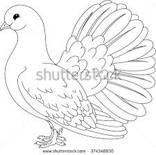coloring book turkey stock vector 269716865 shutterstock