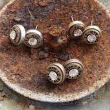 bullet stud earrings best silver bullet earrings products on wanelo