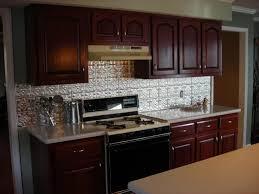 kitchen metal backsplash ideas kitchen u shape kitchen decoration using silver metal backsplash